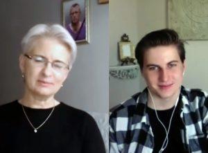 Neringa Venckienė ir Karolis Venckus | Alkas.lt ekrano nuotr.