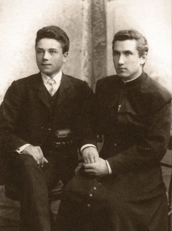 Broliai Jonas ir Juozas Vailokaičiai | Vilkaviškio krašto muziejaus nuotr.