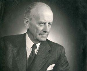Lietuvos nepaprastasis pasiuntinys ir įgaliotasis ministras Švedijoje, Danijoje ir Norvegijoje Vytautas Gylys. [1938 m.] | LCVA, P-40516 nuotr.