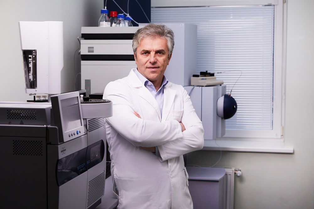 """Imunodiagnostikos"" vadovas Gintautas Gylys   MITA nuotr."