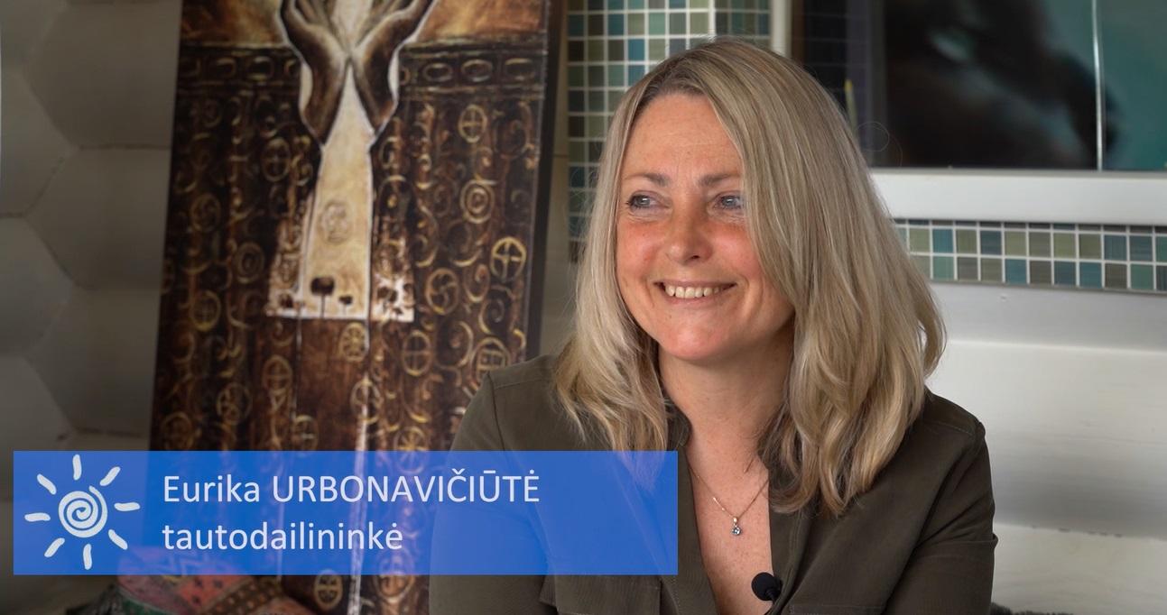 Tapytoja Eurika Urbonavičiūtė | stop kadras