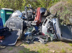 Automobilių bevertės atliekos | GIA nuotr.