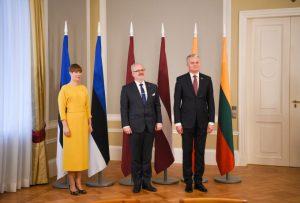 Baltijos valstybių Prezidentai | lrp.lt nuotr.