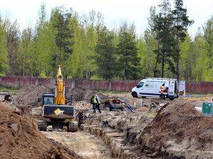 Infrastruktūros atnaujinimo darbai Šiaulių oro uoste | Alkas.lt, A. Sartanavičiaus nuotr.