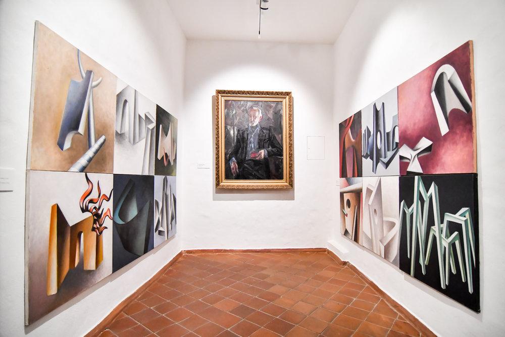 Kazio Varnelio namai-muziejus. Ekspozicijos salė   E. Čingos nuotr.