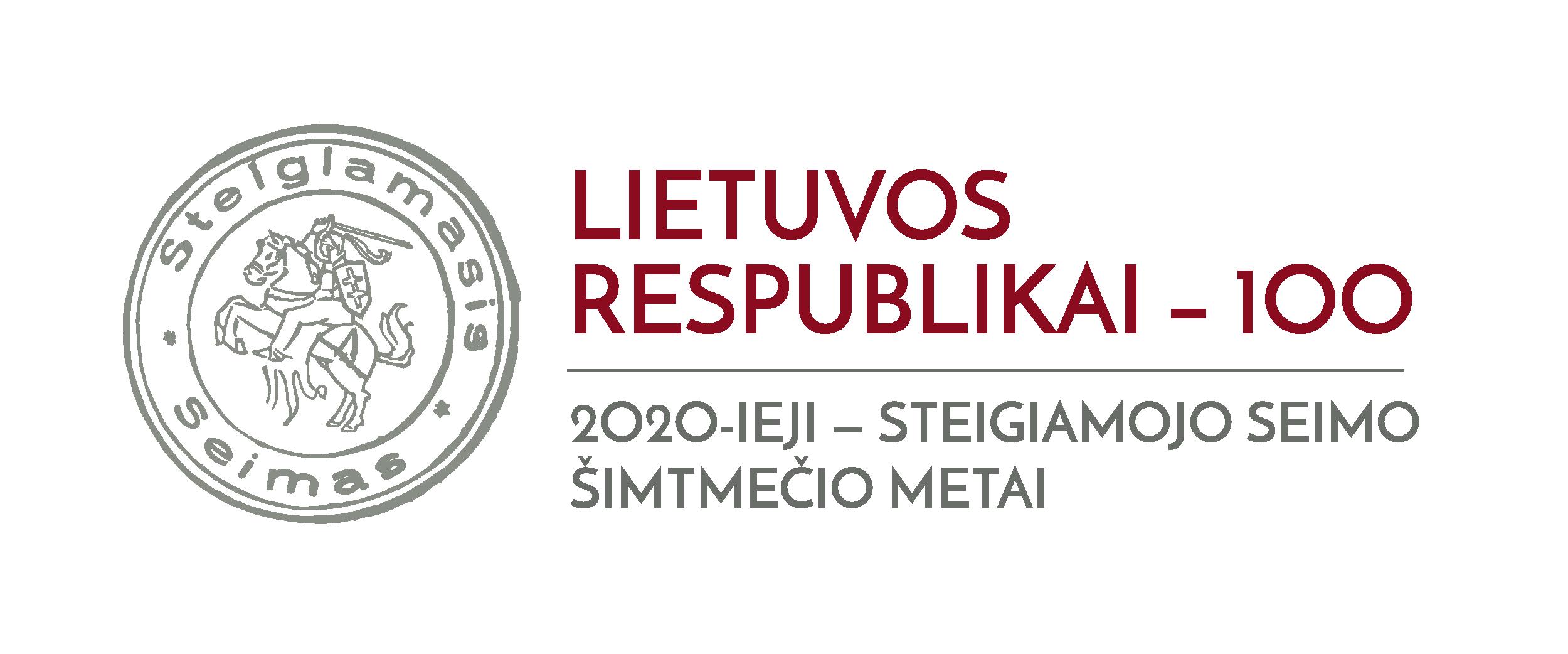 Lietuvos respublikai - 100-lrs.lt