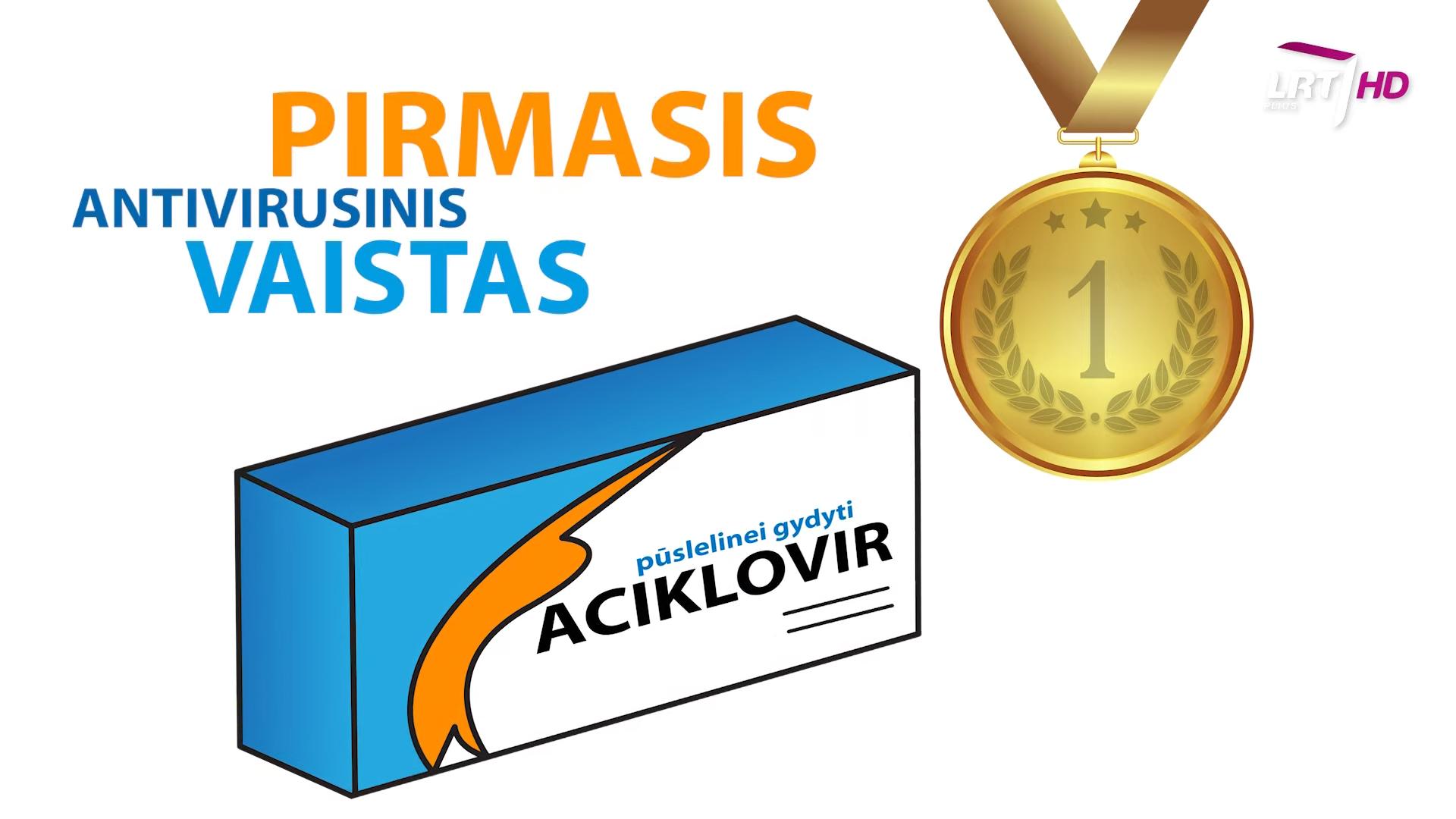 Pirmieji antivirusiniai vaistai | LRT nuotr.