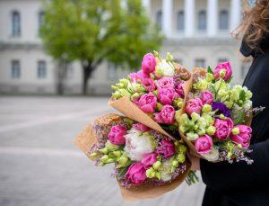 Prezidento gėlės | lrp.lt nuotr.