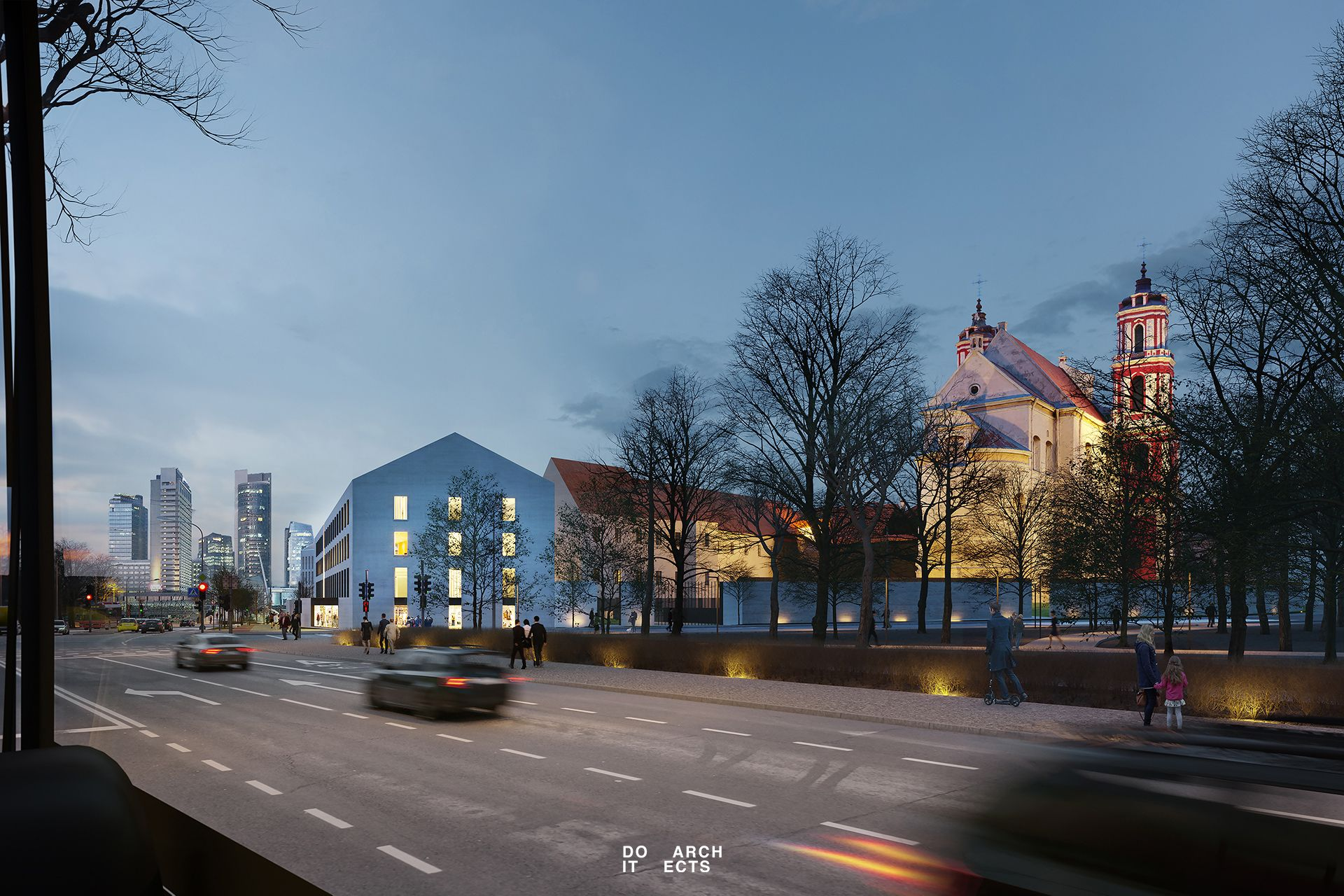 "Vasario 16-osios kompleksas   ""Do Architects"" nuotr."