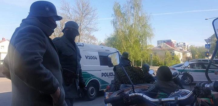 Motociklininkų akcija Vilniuje   rengėjų nuotr.