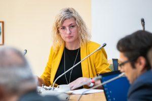 Aplinkos apsaugos komiteto narė Aistė Gedvilienė | Seimo kanceliarijos archyvo nuotr.