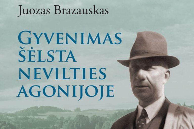 Juozo Brazausko biografinės apybraižos apie Jurgį Savickį viršelis | Autoriaus nuotr.