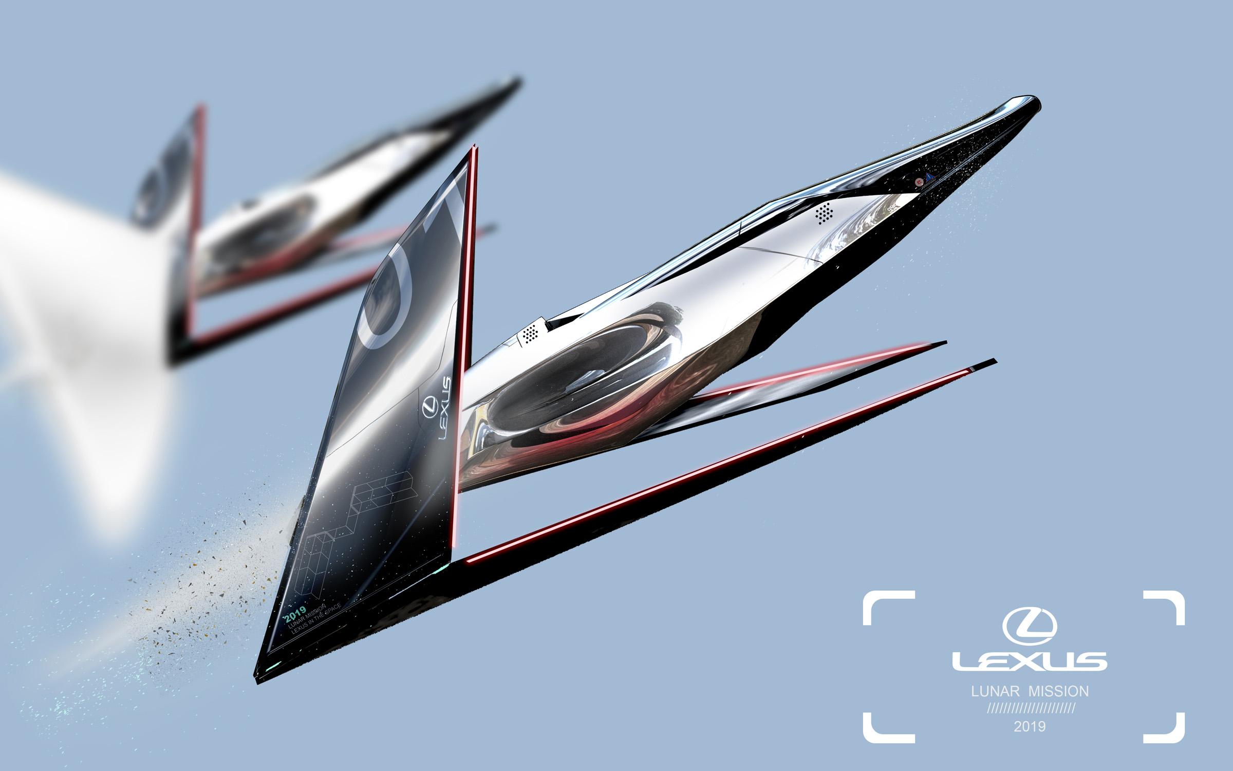 """Lexus Lunar Mission"", autorius – Jangas Presčiutis (Yung Presciutti)   ""Lexus"" nuotr."