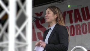 Lietuvos aeroklubo prezidentė Eglė Paužuolienė | alytausgidas.lt nuotr.