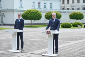 G. Nausėda ir R. Šimašius | prezidentas.lt nuotr.