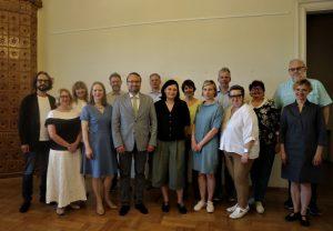 Darbą pradėjo naujoji Lietuvos kultūros ir meno taryba | lrv.lt nuotr.