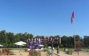 OPEN BEACH pliažas Lukiškių aikštės vietoje | vki.lrv.lt nuotr.