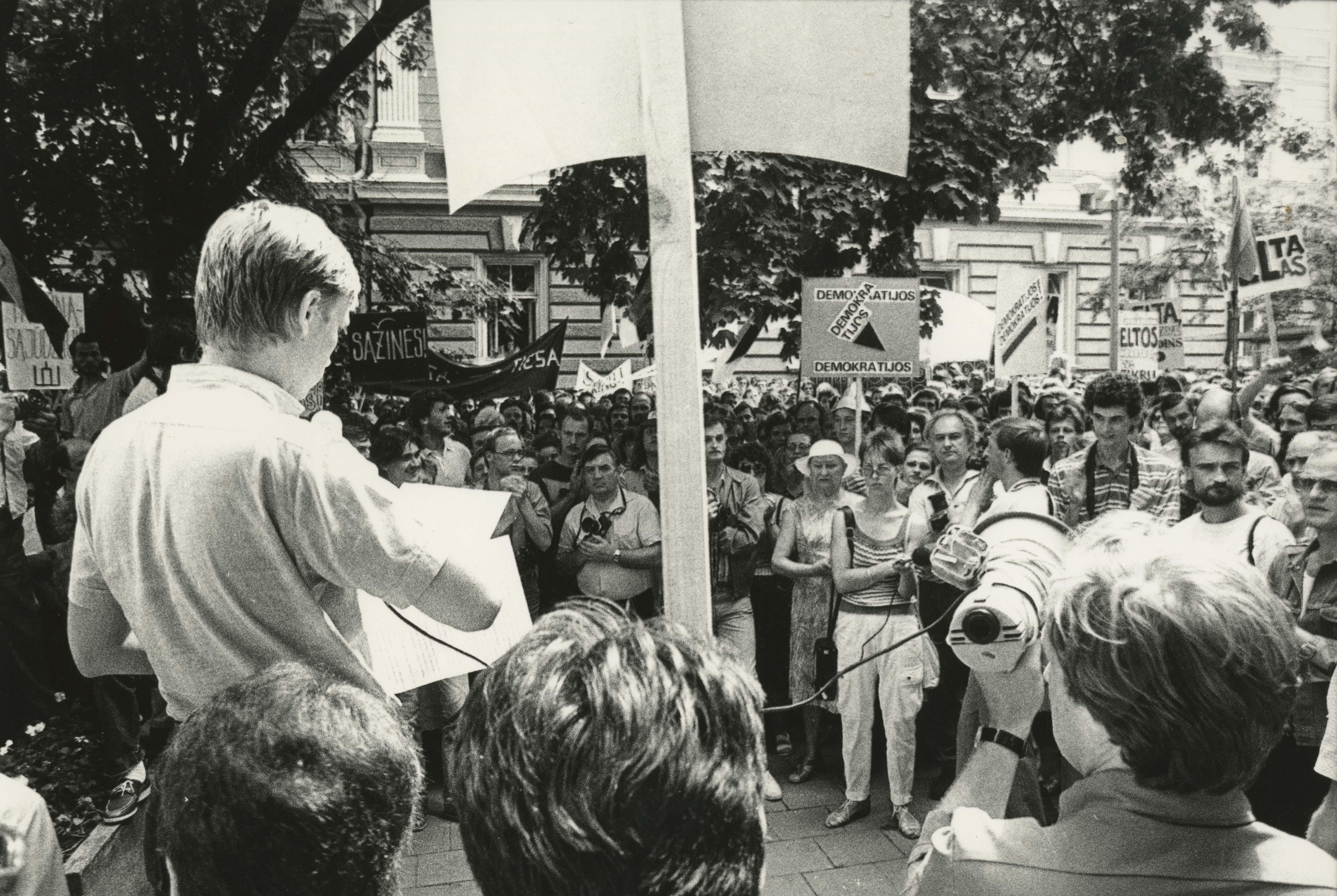 6-1988-06-27 LPS piketas prie ELTA
