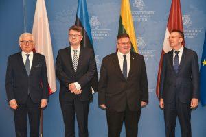Užsienio reikalų ministrų susitikimas | urm.lt nuotr.