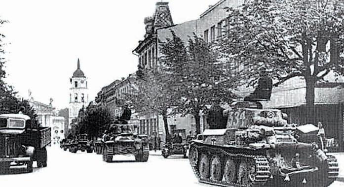 1941 į Lietuvą įžengė Vokietijos kariuomenė | archyvinė nuotr.