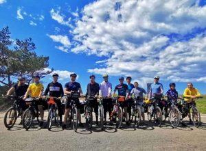 Vasarą sveikuoliai pradėjo dviračių žygiu Vilnius – Baltijos jūra | J. Dapšausko nuotr.,