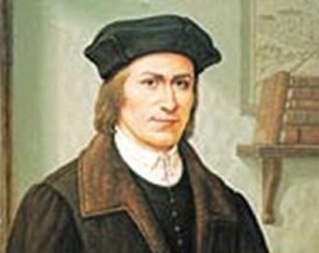 Lietuvių raštijos pradininkas Martynas Mažvydas (1520-1563)   Vikipedija.org nuotr.