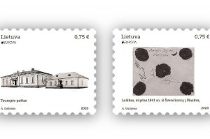 Išleidžiama pašto ženklų serija seniesiems pašto keliams   Lietuvos pašto nuotr.