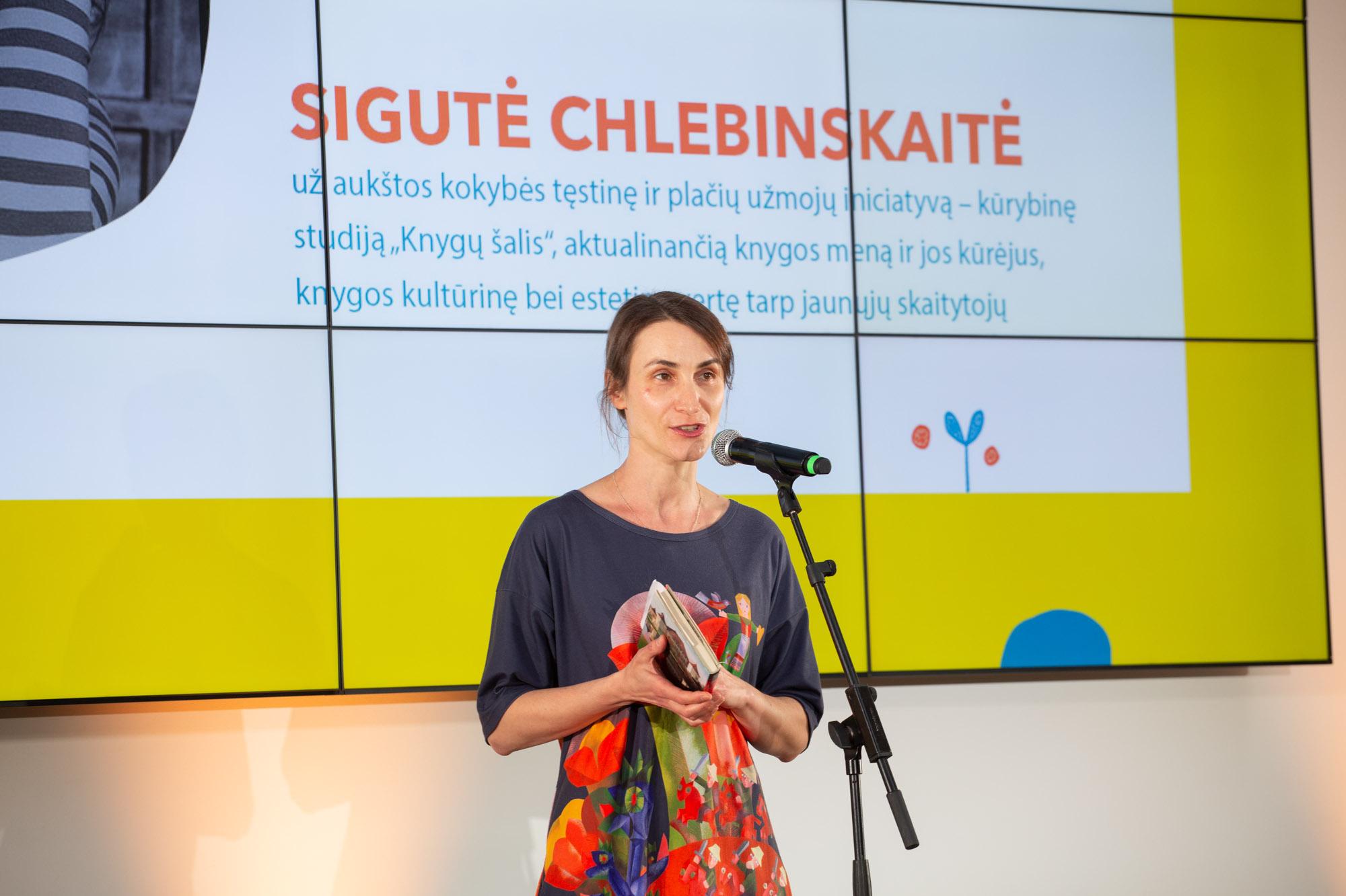 Sigutei Chlebinskaitei | J. Kygo nuotr.