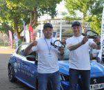 Vitoldo Miliaus ir Aido Bubino pergalė elektromobilių varžybose | VGTU nuotr.