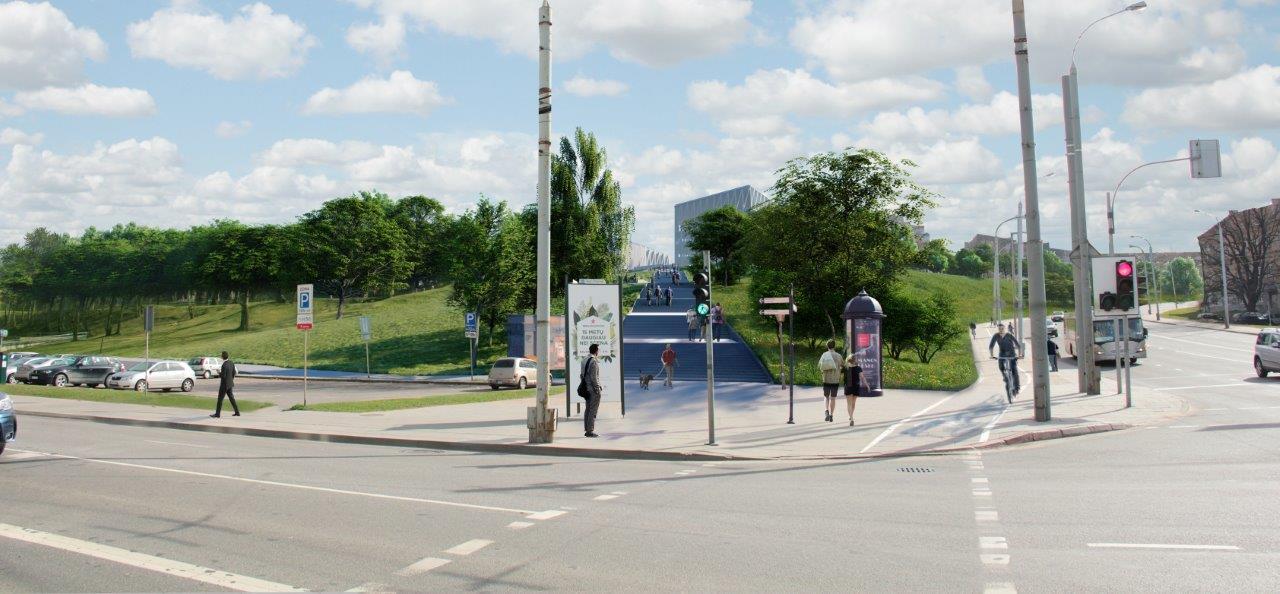 Tauro kalno vizualizacija   Vilniaus miesto savivaldybės nuotr.