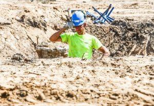 Darbas per karščius pavojingas dirbančiųjų sveikatai | A. Aleksandravičiaus nuotr.