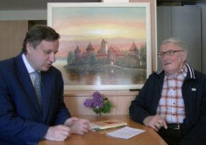 Tomas Baranauskas ir Algis Kasperavičius | Alkas.lt nuotr.