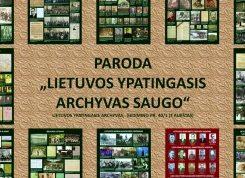 Minėsime Tarptautinę archyvų dieną | archyvai.lt nuotr.