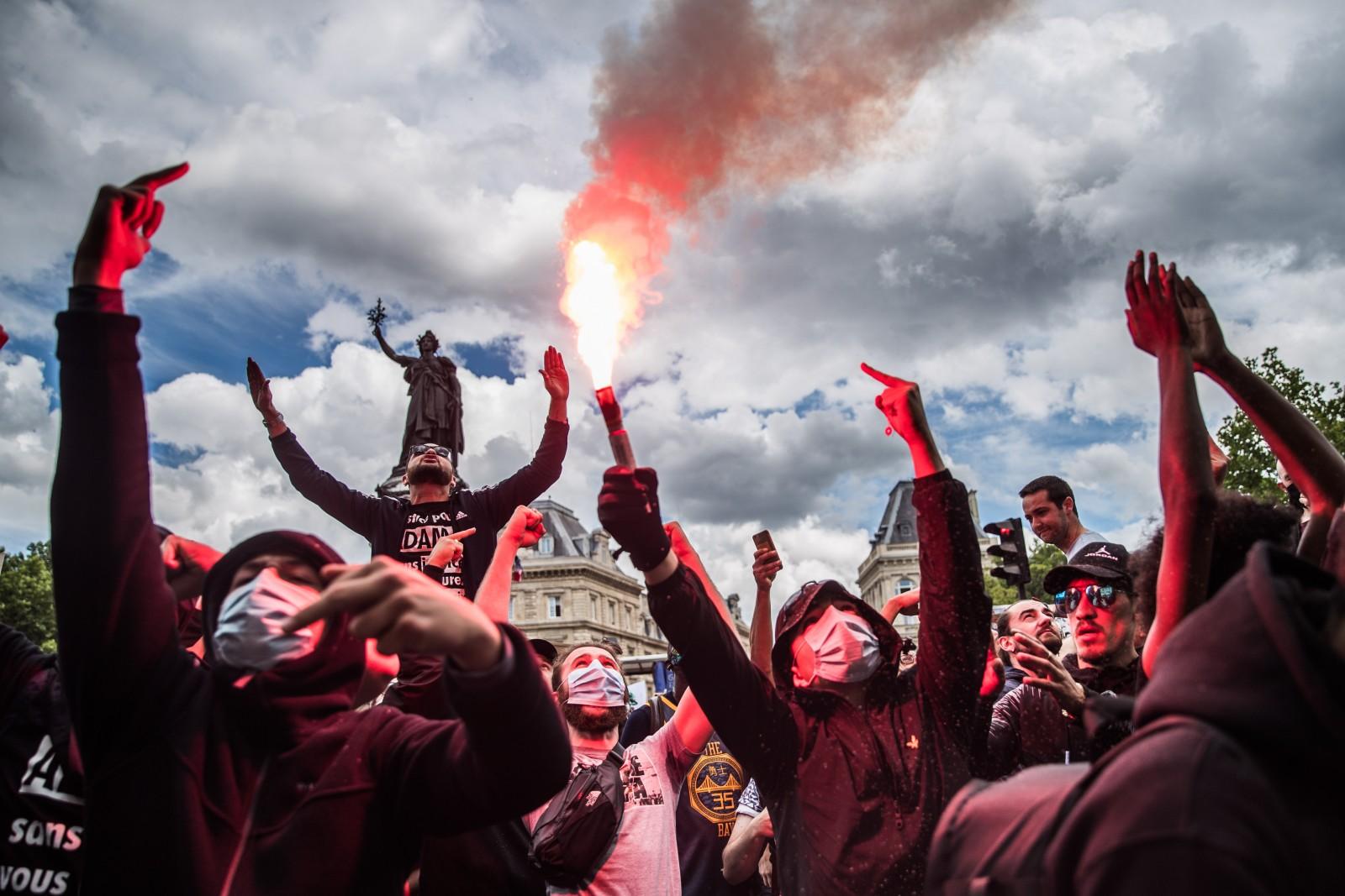 Protestai Paryžiuje | EPA-Eltos nuotr.