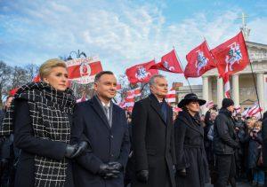 Prezidentas: tikiuosi, kad Lenkija susitikime su JAV Prezidentu Donaldu Trampu atstovaus regiono saugumo interesams | lrp.lt nuotr.