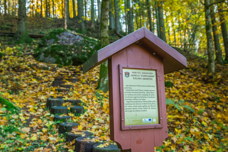Velnio akmuo | Žemaitijos nacionalinio parko nuotr.
