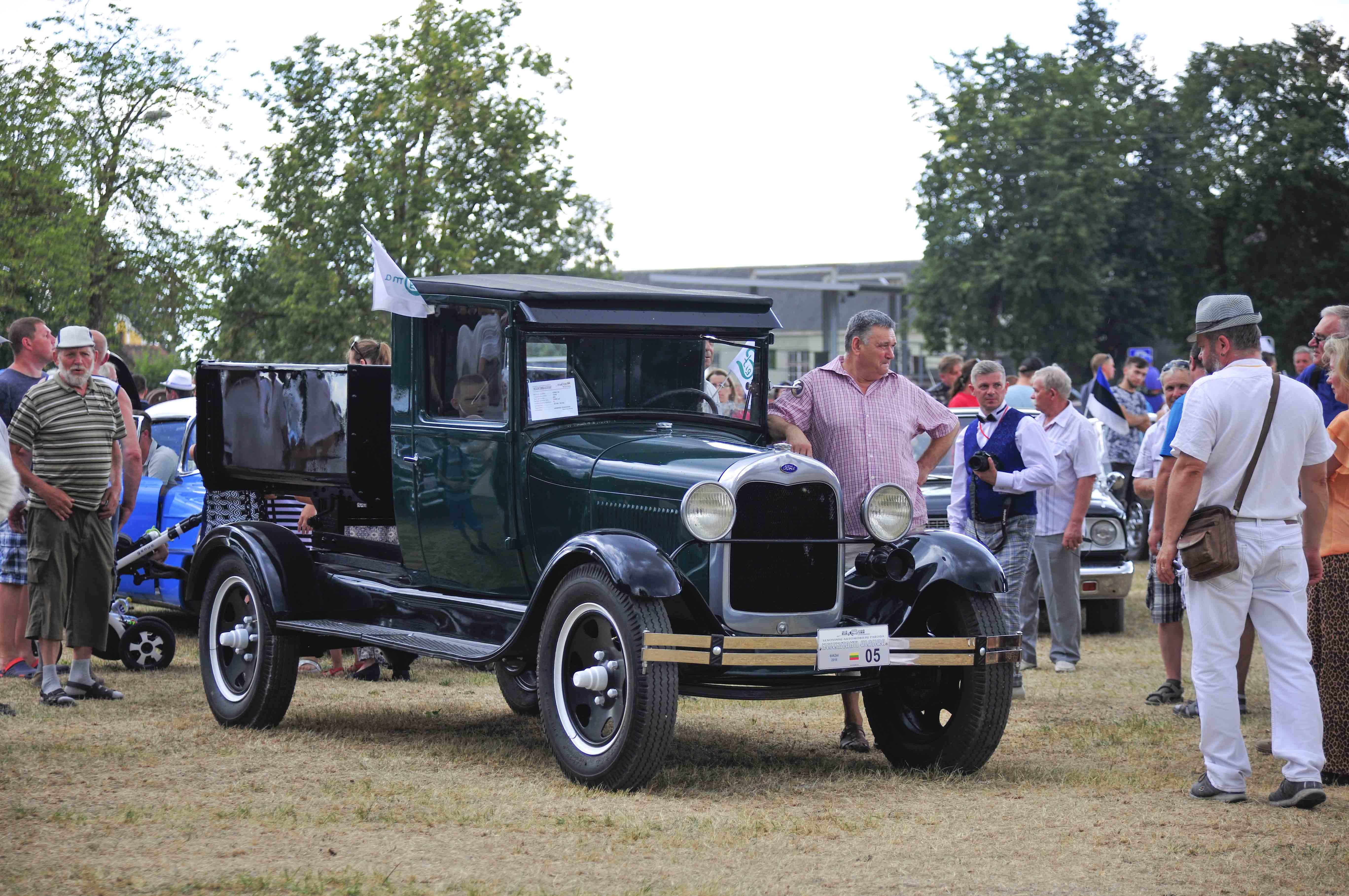 1922 m. sunkvežimiukas Ford AA | I. Daubaraitės nuotr.