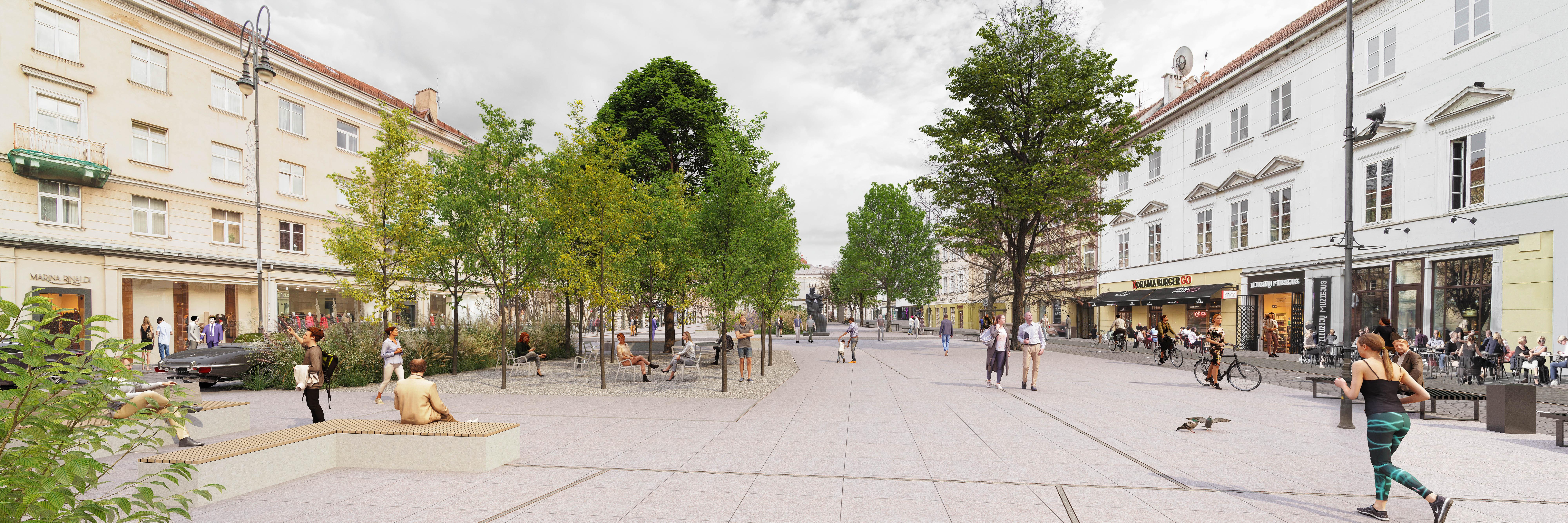 "1 vieta ""Strassen-Platz"" | Vilniaus miesto savivaldybės nuotr."