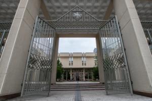 Visuomenei atveriamas Seimo rūmų Didysis kiemas | Lietuvos Respublikos Seimo kanceliarijos nuotr.