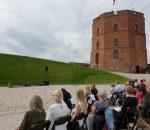 Ant Gedimino pilies kalno prasidėjo Lietuvos muziejų kelio 2020 m. renginiai   lrv.lt nuotr.