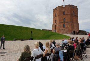 Ant Gedimino pilies kalno prasidėjo Lietuvos muziejų kelio 2020 m. renginiai | lrv.lt nuotr.
