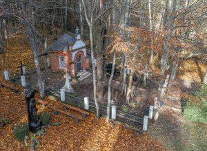 Erškėtyno šaltinis yra Kretingos r. sav., Joskaudų miške, tarp Dimitravo ir Lazdininkų kaimų | rengėjų nuotr.