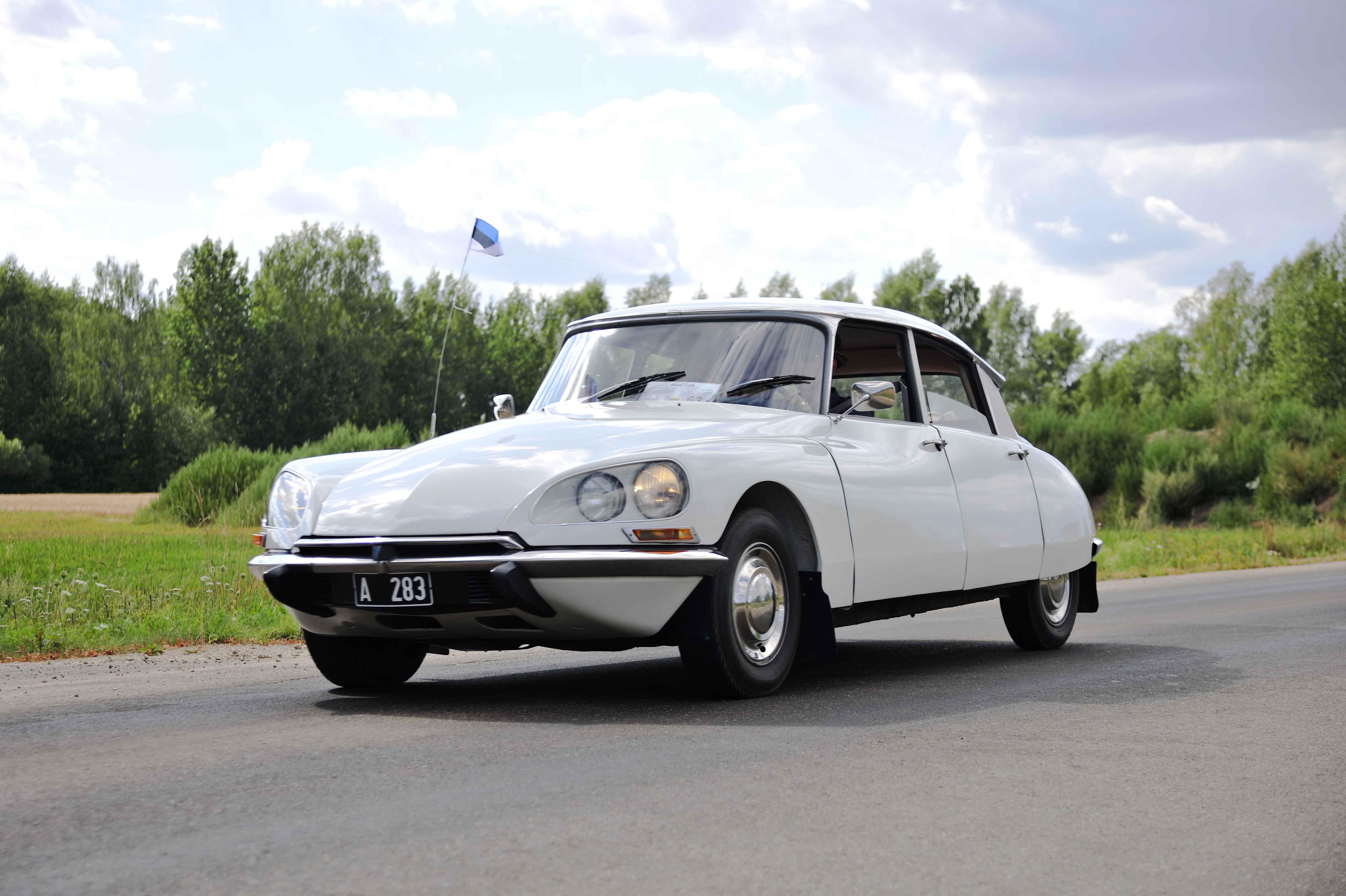 Gražiausias automobilis – Citroen ID 19B Speciale, pag. 1970 m. Savininkas – Toomas Greenbaum (Estija)   I. Daubaraitės nuotr.