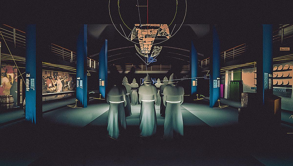 Klaipedos muziejus, ekspozicijos siaurineje kurtinoje vizualizacija | Rengėjų nuotr.