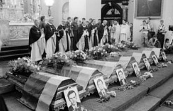 Medininkų pareigūnų nužudymas  genocid.lt nuotr.