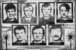 Medininkų pasienio kontrolės poste sovietų OMON smogikai nužudė Lietuvos pareigūnus \ lrs.lt nuotr.