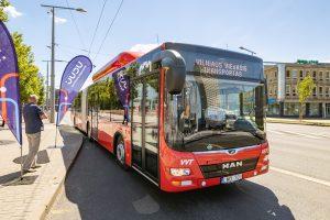 Nauji autobusai Vilniuje | vilnius.lt nuotr.