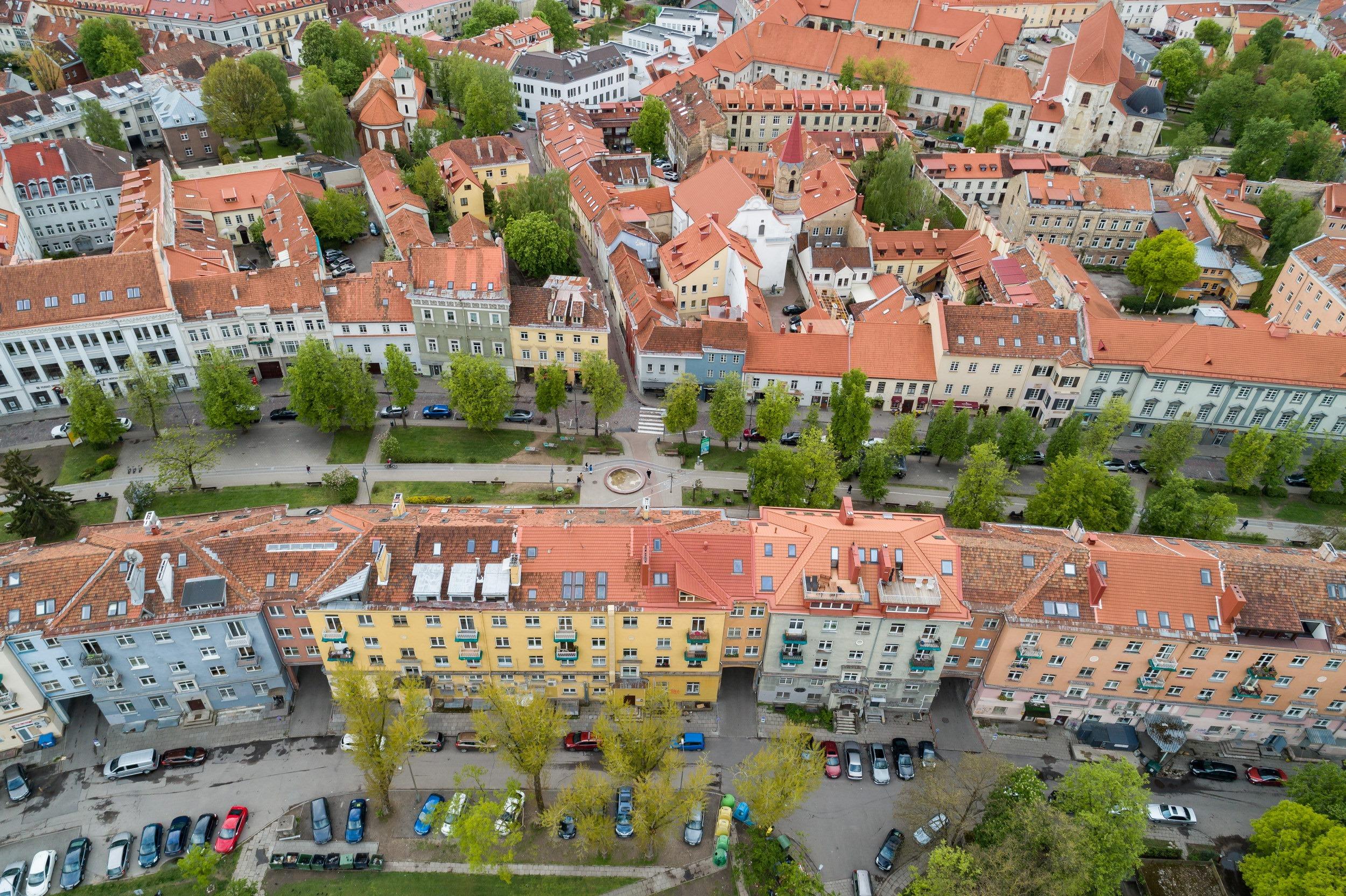 Vokiečių gatvė | Vilniaus miesto savivaldybės nuotr.