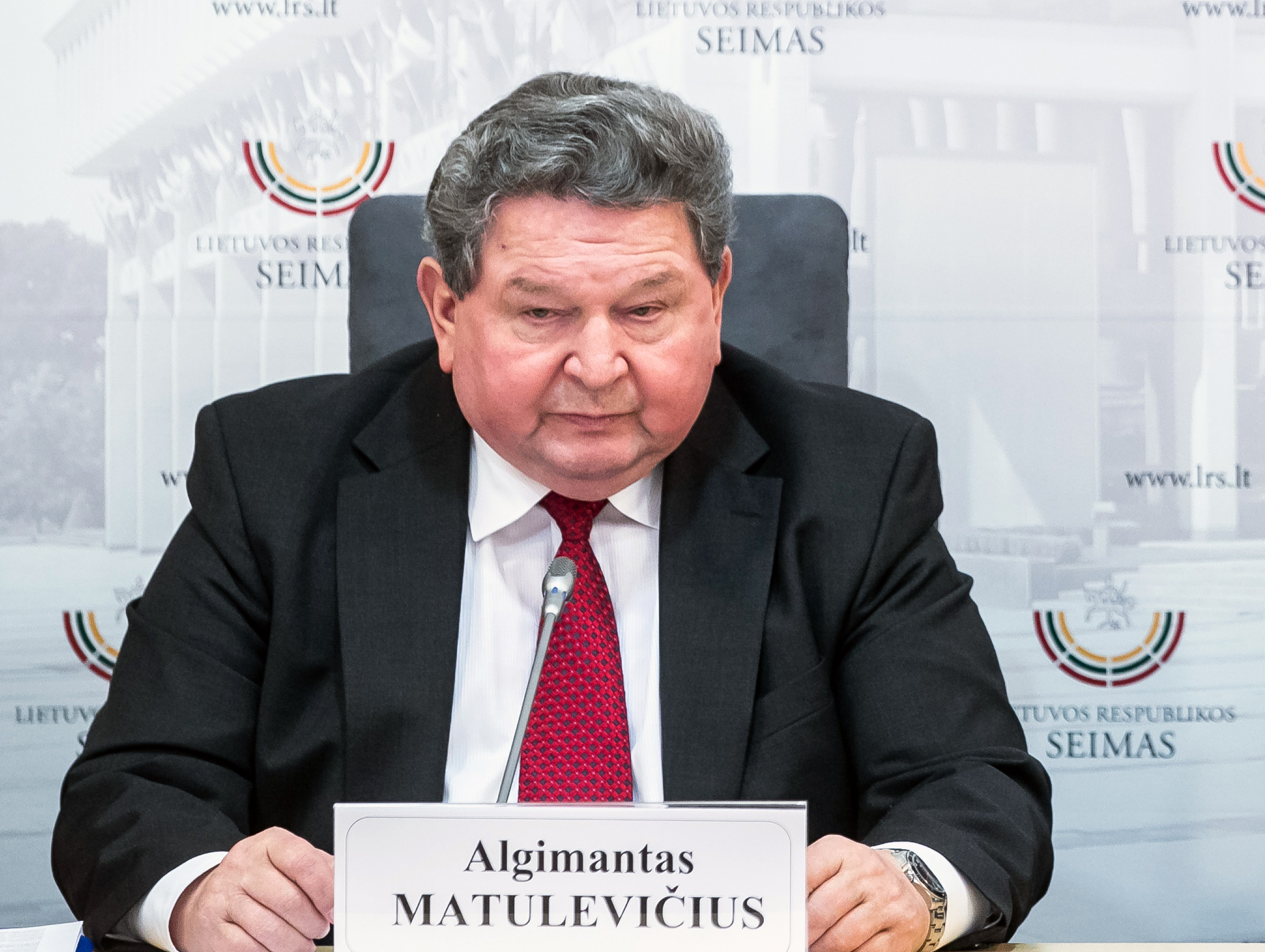 dr. Algimantas Matulevičius | lrs.lt, O. Posaškovos nuotr.