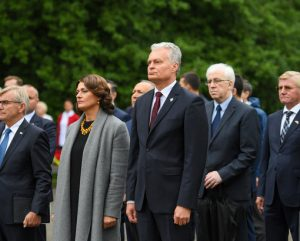 Medininkų žudynių minėjimas   prezidentas.lt nuotr.